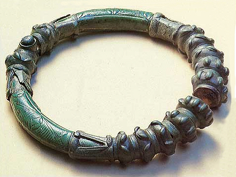 Celtic Bronze Torc