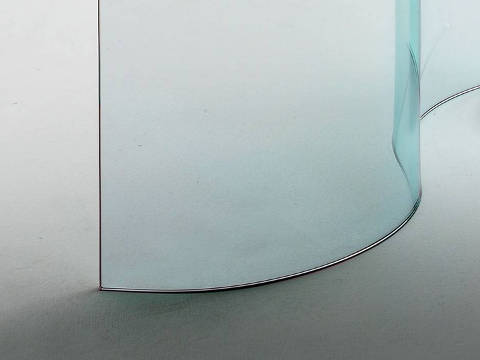 Curved Glass by Infabbrica.