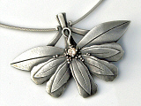 Art Clay Silver Pendant By Petra Cameron .